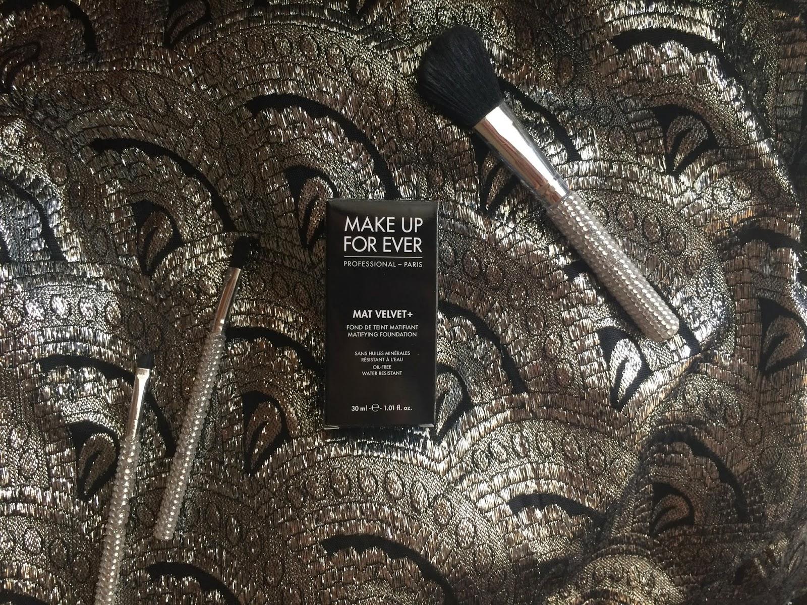 make up for ever mat velvet + recensione