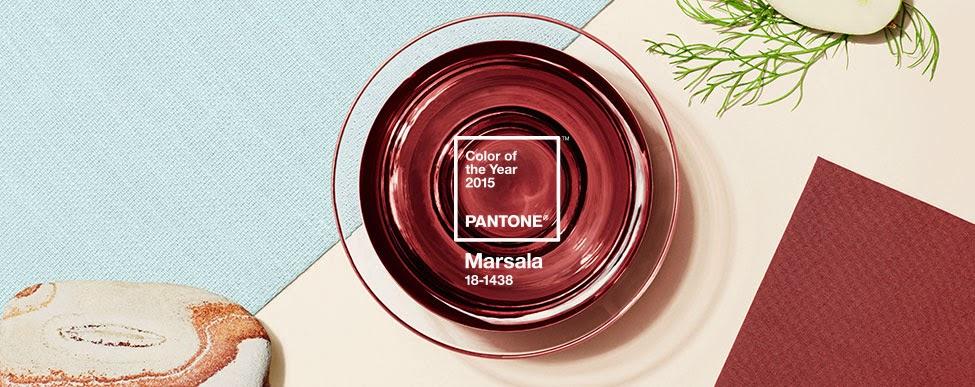 pantone marsala colore dell'anno 2015