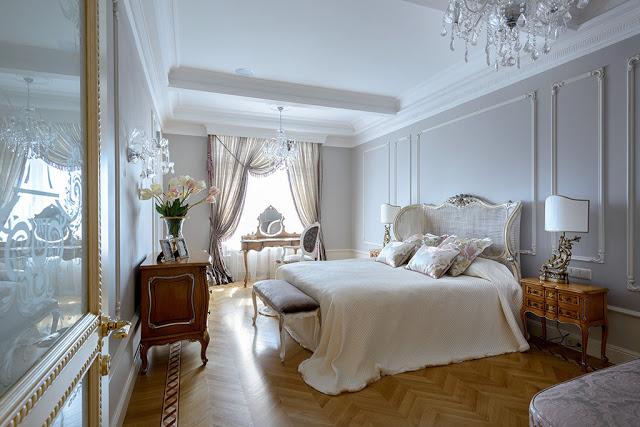 ispirazione camera da letto vintage