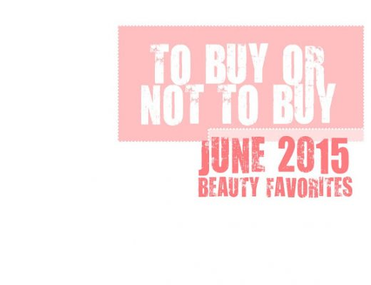 june 2015 beauty favorites