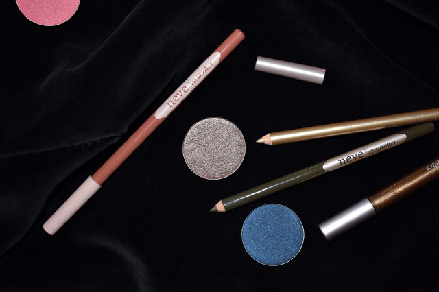 neve cosmetics neogothic collection