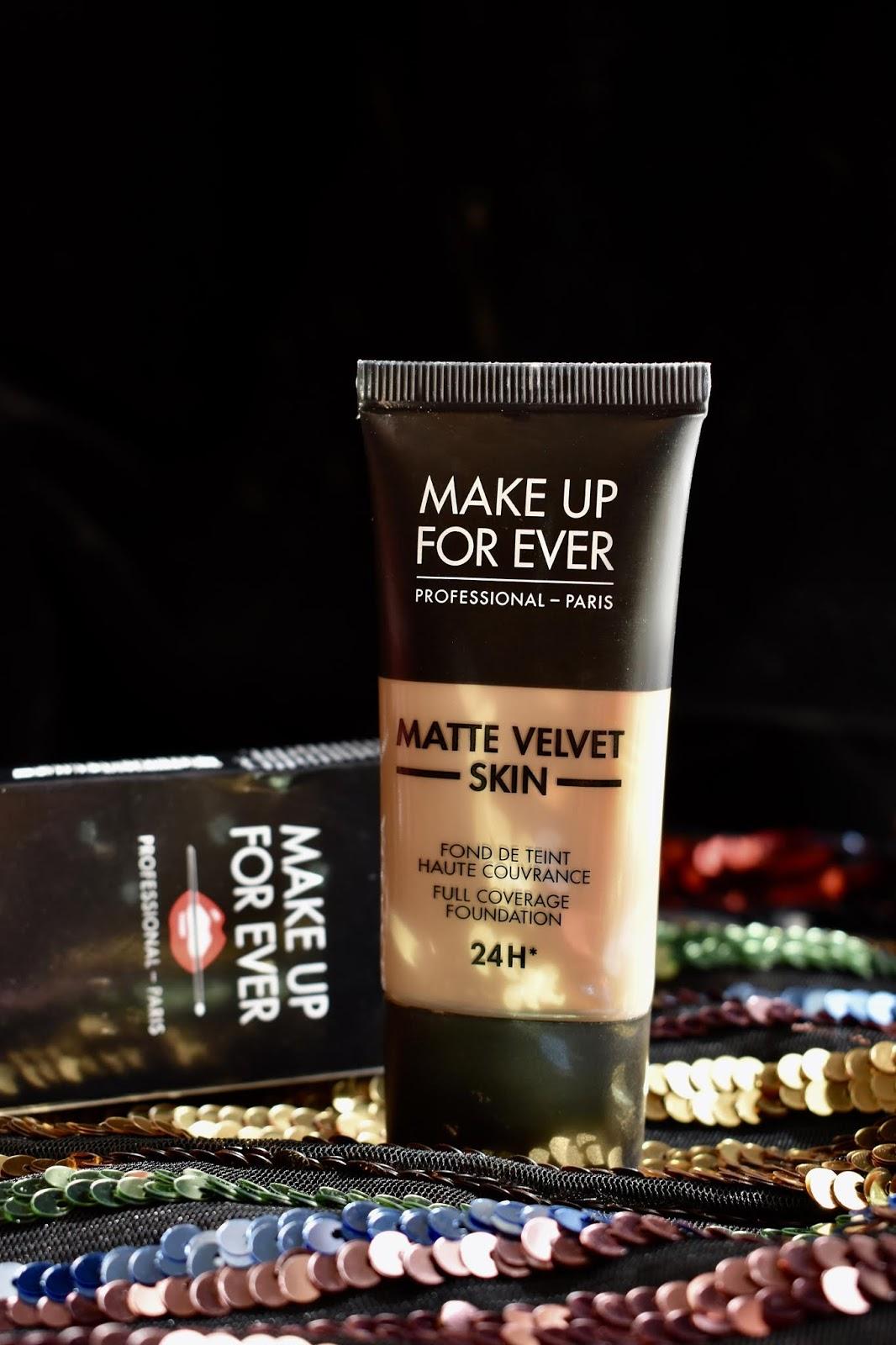 make up for ever matte velvet skin