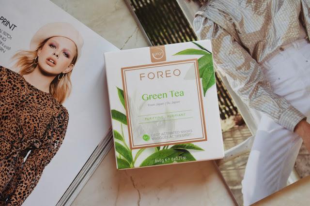 foreo ufo 2 green tea