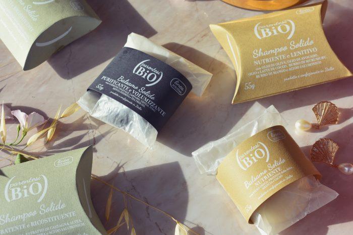 recensione shampoo e balsamo solido parentesi bio