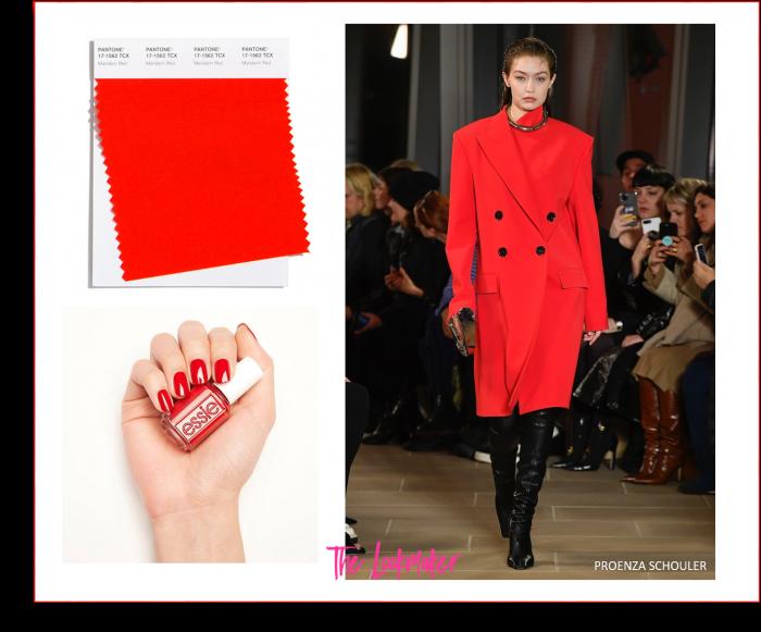 colori moda autunno inverno 2020/21 mandarin red notino