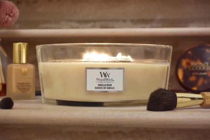 candela woodwick vanilla bean notino