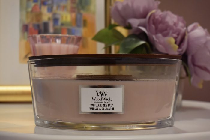 candela woodwick vanilla sea salt notino