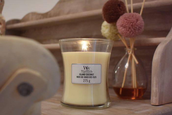 candela woodwick island coconut notino