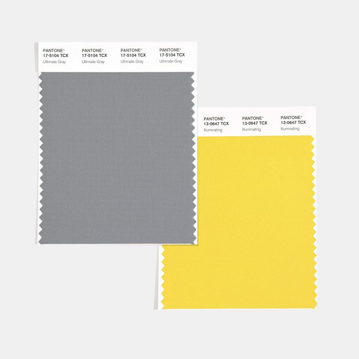 pantone colori dell'anno 2021 ultimate grey illuminating