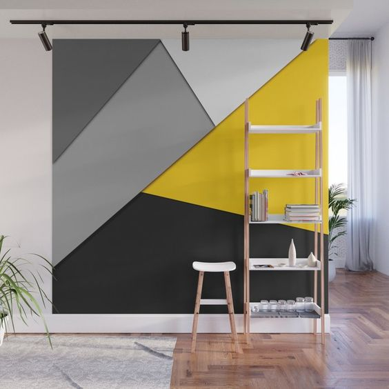 architettura giallo grigio colori dell'anno