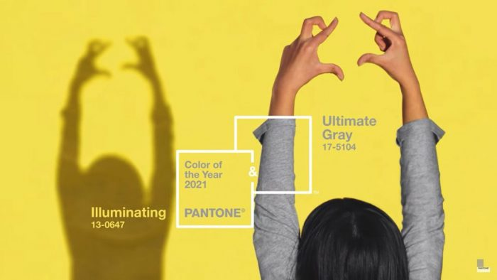 pantone ultimate grey illuminating
