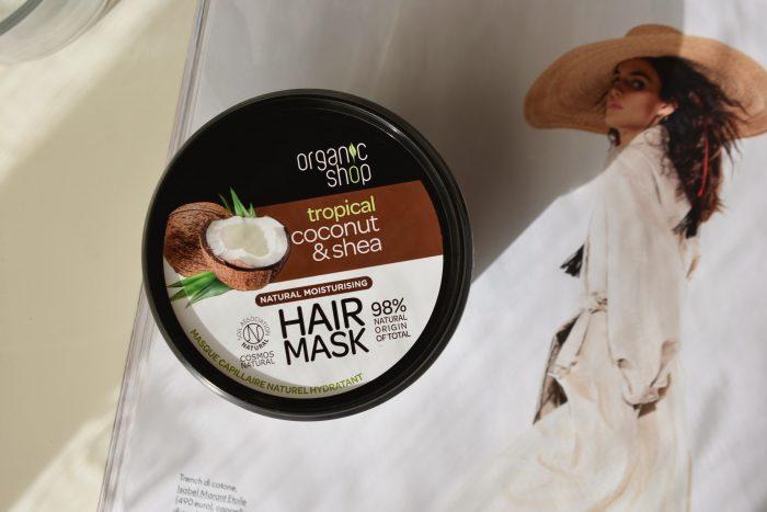 recensione maschera capelli organic cocco karitè notino