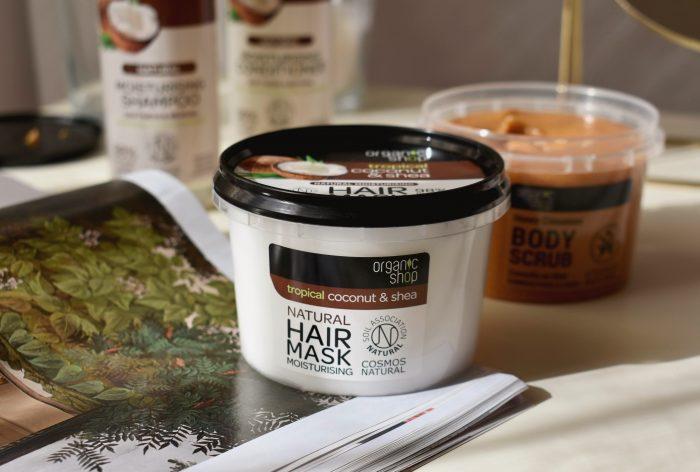 organic shop coconut & shea review notino