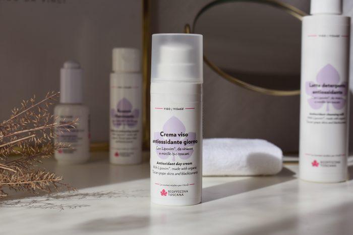 crema viso antiossidante biofficina toscana
