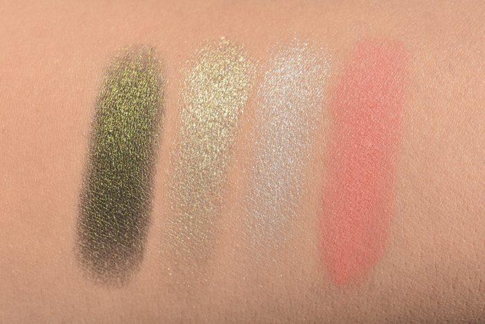 rvb lab makeup ombretti swatch